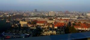 Uitzicht vanaf dak Kavel G Amsterdam