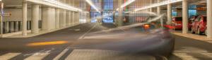 Parkeergarage Nieuwegein corridor