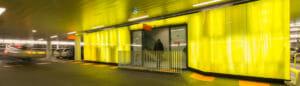 Parkeergarage Theatercomplex Nieuwegein trappenhuis