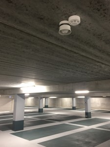 Slowwhoop aan plafond