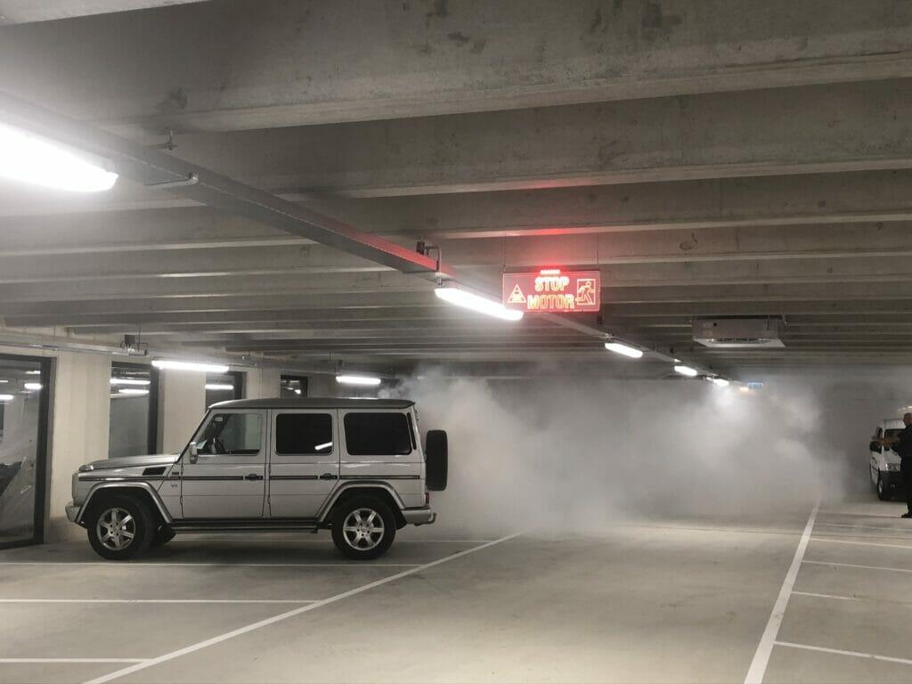 1e fase parkeergarage LED Duin Almere opgeleverd